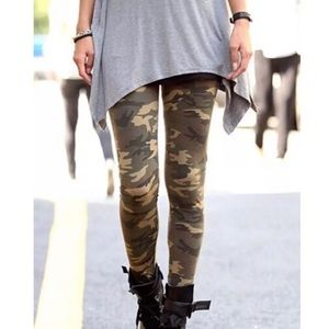 Camouflage Buttery Soft Leggings